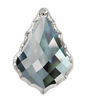5 Diamond Cut 63mm French Clear Chandelier Crystals Asfour Lead Crystal Pendants
