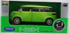 WELLY 2001 VW VOLKSWAGEN MICROBUS GREEN 1:34 DIE CAST METAL MODEL NEW IN BOX