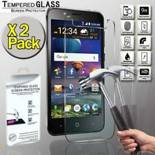 2 Pack Tempered Glass Film Screen Protector  For ZTE Zfive G LTE