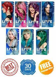 Schwarzkopf Live Haarfärbemittel Intensive Farbe Permanent Semipermanente Farben