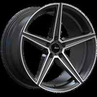 20x9 Advanti Racing Cammino 5x120 +45 Matte Grey Wheels (Set of 4)