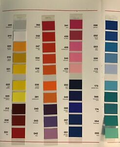 """Oracal 631 Matte vinyl Removable Adhesive Vinyl 12"""" x 5ft Roll Assorted Colors"""