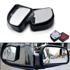 2pcs Black Adjustable Side Car Auto Blind Spot Wide Angle Rearview Mirror #015