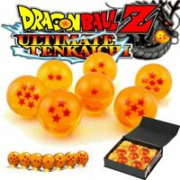 7 JP Anime DragonBall Z Stars Crystal Ball Collection Set with Gift Box K