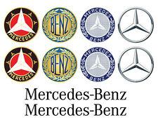 Mercedes Logo decals