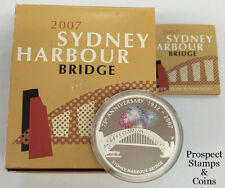 2007 Sydney Harbour Bridge 75th Anniversary Celebrations 1oz Silver Proof coin