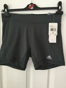 Adidas Climalite Shorts,ladies,grey,BNWT,stretch,running,keep Fit,size M