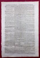 Beauzelle en 1792 Haute Garonne Toulouse Seine et Marne Lequinio Morbihan