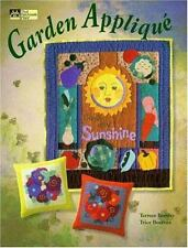 GARDEN APPLIQUE QUILT BOOK  19 PROJECTS