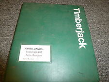 Timberjack 608 Feller Buncher Logging Parts Catalog Manual Book 969167