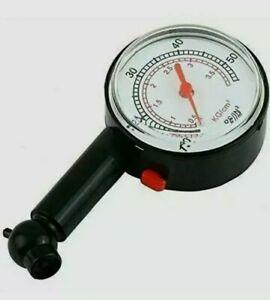 220PSI PROFESSIONAL TYRE PRESSURE GUAGE AIR CHECK PSI/BAR CAR BIKE  INFLATORS