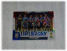 2014 Panini Prizm World Cup Red Blue Plaid Team Photos - Uruguay #31