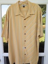 Tommy Bahama Men/'s Hombre Ole Short Sleeve Silk Shirt TB34882 L Large NWT $128