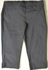 Autograph Plus Size Black Stretch Crop Pants, Great Condition Size 20