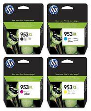 Genuine HP 953XL Ink Cartridge Set Black Cyan Magenta Yellow Officejet Pro 8710