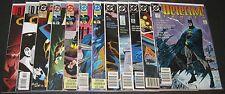 Detective Comics 600 601 605-607 652 653 665-667 766 767, DC Batman (12) lot