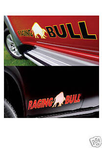Mitsubishi Raging Bull Decals