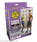 """New Gold's Gym Slimming Shorts Size S/M 25""""- 34"""" Work Out Sweat Out Slim Down"""