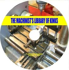 Machinist Tips,Tricks,Kinks,Workshop/Metalwork,Lathe Milling, Grinding  on CD