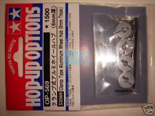 Tamiya Clamp Type Aluminum Wheel Hub 6mm (53569)