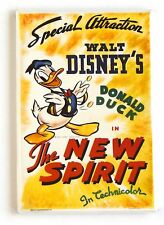 The New Spirit Fridge Magnet (2 x 3 inches) movie poster donald duck