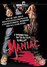 MANIAC (1980) HORROR FILM ANCHOR BAY EDITION STARRING JOE SPINELL NEW DVD