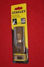 STANLEY RAZOR BLADE SCRAPER Glass Window Paint Putty Stickers 5 Extra Blades