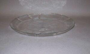 Serving Ware DECO GLASS RIMMED SERVING PLATE PLATTER