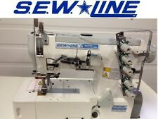 Sewline Sl-562 New Top Quality Hi Speed Coverstitch Industrial Sewing Machine