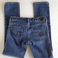 X2 Women's Size 0 Ultra Low Rise Skinny Leg Jeans Medium Wash Blue Denim Express