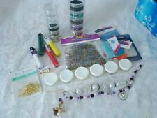Bead Lot Mixed Sizes Styles Colors Seed Storage Organizers Earring Hooks NEW