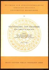 Vijayanagara--City and Empire New Currents of Research 2 Vols First Edition 1985