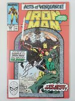 IRON MAN #250 (1989) MARVEL COMICS GIANT-SIZED ACTS OF VENGEANCE! DR DOOM!