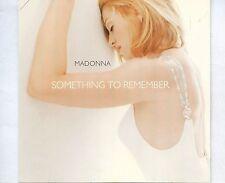 CD MADONNA something to remember GERMAN 1995 EX