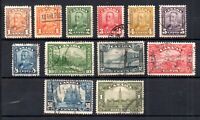 Canada KGV 1928 full fine used set SG275-285 WS18249