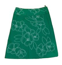 Monsoon Womens Skirt 14 Green