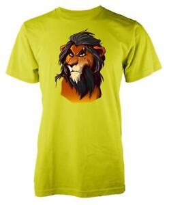 Lion King Scar Villain Adult T Shirt