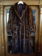 Einfach Nerzmantel Nerz Mantel Pelz 2 Meter Saum Dunkel Dark Mink Coat Visone Pelzmantel Kleidung & Accessoires
