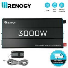 Renogy 3000W 12V Pure Sine Wave Inverter 3000W Solar Power Battery Converter