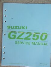 1998 Suzuki GZ250 Motorcycle Service Manual Inspection Overhaul Engine  Bike T