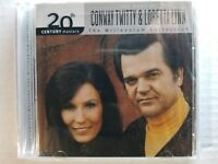 The Best of Conway Twitty & Loretta Lynn - 20th Century Masters (New CD)
