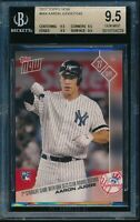 2017 Topps Now Aaron Judge BGS 9.5 Gem Mint RC Card #664 Rookie New York Yankees