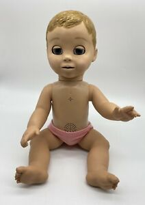 Luva Bella Interactive Talking Baby Girl Doll Spin Master  Works Great