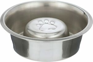 Slow Feed Bowl by Neater Pet Brands - Stainless Steel Metal - Fits Neater Feeder