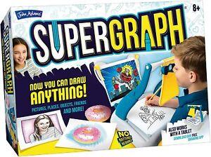 Kids Sketcher Projector Drawing Station Create Stunning Artwork for Kids Child