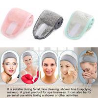 Women Facial Hairband Make Up Headband Adjustable Stretch Towel Shower Caps