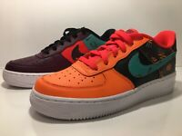 NIKE AIR FORCE 1 LV8 HYPER JADE BORDEAUX SZ 6Y AT3407 600 woman's size 7.5