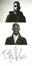 MUSIC* TINIE TEMPAH SIGNED 6x4 WHITECARD+2 UNSIGNED PHOTOS+COA *PASS OUT*