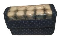 Vtg REMINGTON 20 Piece Curl Hair Styling Set Rollers Curlers Electric Working...