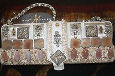"""NWT Mary Frances Beaded Embroidered Bag Purse """"Heaven on Earth"""""""